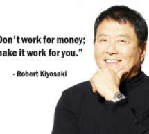 Robert?  It's me – Aunty Kiyosaki!