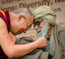 Aunty and the Dalai Lama