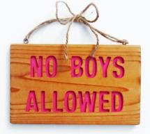 HiWire – no boys allowed!