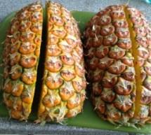 Easy fresh pineapple!