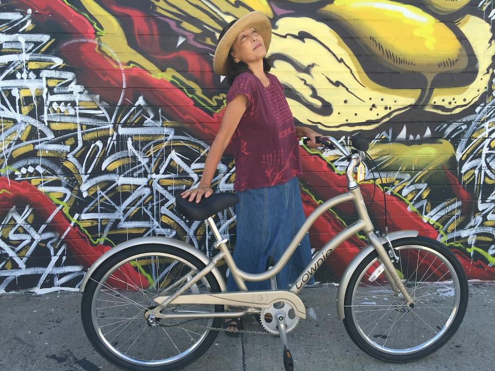 Aunty's bike