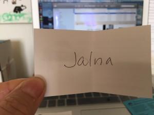 Congrats Jalna!