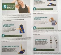 5 morning stretches – so easy, and they work!