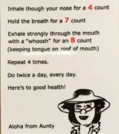 4-7-8 Breathing exercise for life, and magnets
